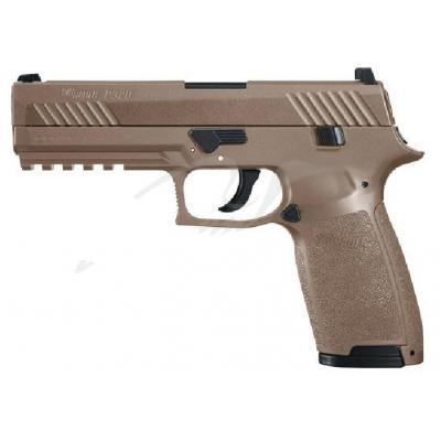 Пневматичний пістолет Sig Sauer Air P320 Coyote Tan 4,5 мм (AIR-P320-177-30R-CYT) - зображення 1