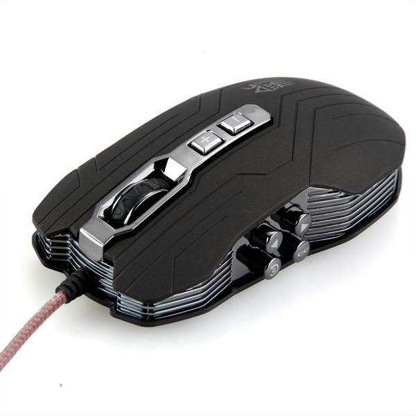 """Мышь игровая Jason JS-X9 Brown 9D оптическая 2400DPI """"дышашяя"""" 4х цветная LED подсветка - изображение 1"""