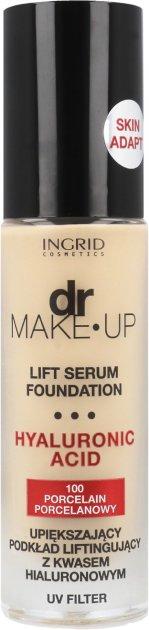 Тональный крем для лица Ingrid Cosmetics DR. Make up с сывороткой №100 30 мл (5901468921560) - изображение 1