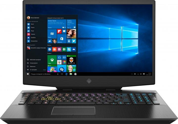 Ноутбук HP Omen 17-cb1011ur (15D55EA) Shadow Black - зображення 1