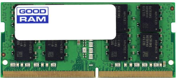 Оперативная память Goodram SODIMM DDR4-2666 4096MB PC4-21300 (GR2666S464L19S/4G) - изображение 1