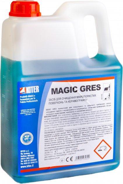 Моющее средство Kiter Magic Gres для полов 3 л (120020.3L) - изображение 1