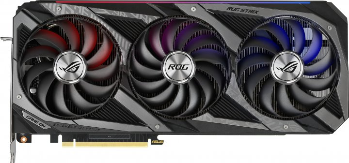 Asus PCI-Ex GeForce RTX 3090 ROG Strix OC 24GB GDDR6X (384bit) (19500) (2 x HDMI, 3 x DisplayPort) (ROG-STRIX-RTX3090-O24G-GAMING) - зображення 1