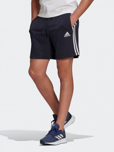 Шорты Adidas M 3S Ft Sho GK9598 M Legink/White (4064044992338) - изображение 1