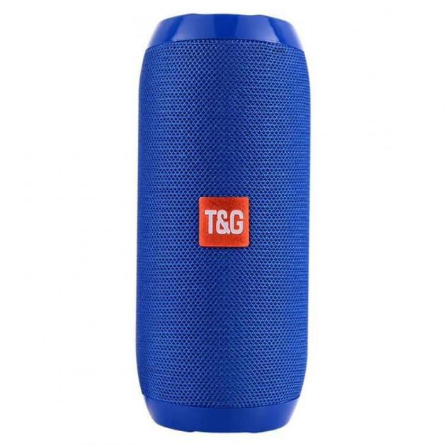 Портативная bluetooth колонка влагостойкая TG-117 Синий (45775) - изображение 1