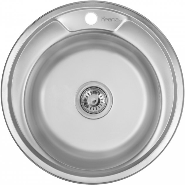 Кухонна мийка IMPERIAL 490-A Decor IMP490А06DEC - зображення 1
