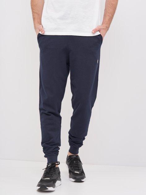 Спортивные штаны Emporio Armani 10395 S (44) Темно-синие - изображение 1
