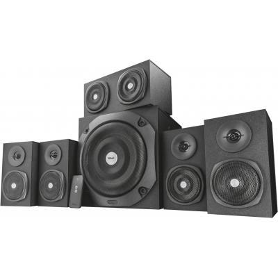 Акустична система Trust Vigor 5.1 Surround Speaker System Black (22236) - зображення 1