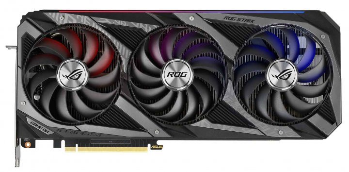 Asus PCI-Ex GeForce RTX 3070 ROG Strix Gaming OC 8GB GDDR6 (256bit) (14000) (2 x HDMI, 3 x DisplayPort) (ROG-STRIX-RTX3070-O8G-GAMING) - зображення 1