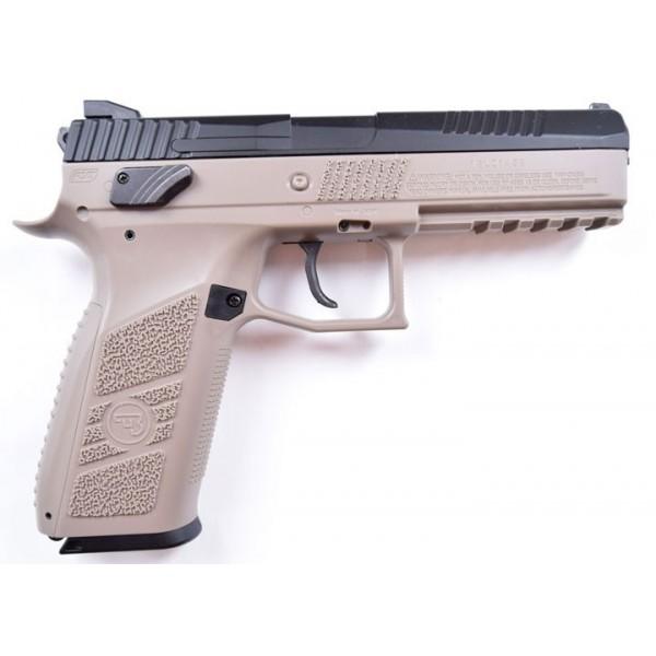 Пистолет пневм. ASG CZ P-09 Pellet DT-FDE Blowback, 4,5 мм - зображення 1