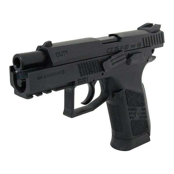 Пистолет пневм. ASG CZ 75 P-07 Blowback, 4,5 мм - изображение 1
