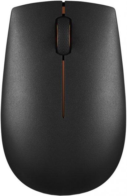 Мышь Lenovo 300 Wireless Black (GX30K79401) - изображение 1