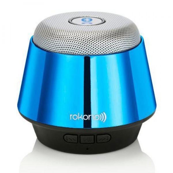 Портативная bluetooth MP3 колонка Rokono B10 Blue - изображение 1
