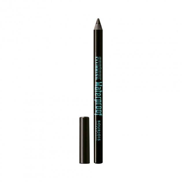 Водостійкий олівець для очей Bourjois Countour Clubbing Clubbing №41 (Чорний вугілля) - зображення 1