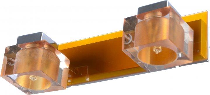 Світильник спотовий Brille HTL-147/2 G9 Orange (L62-002) - зображення 1