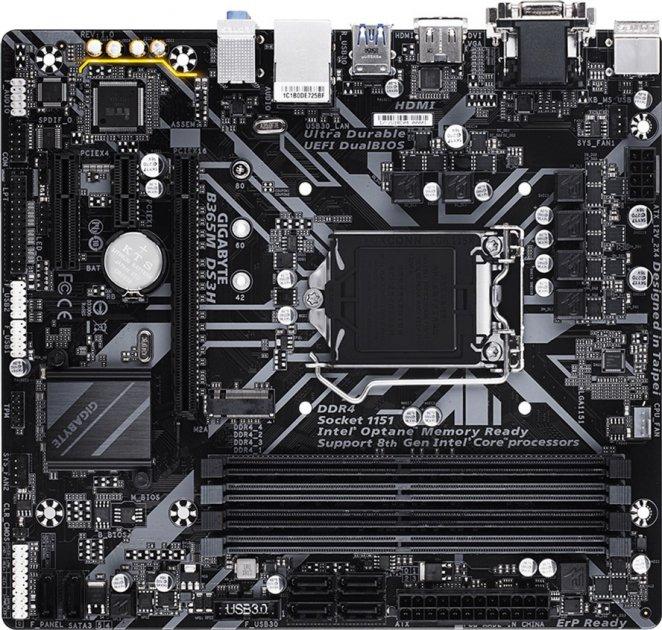 Материнська плата Gigabyte B365M DS3H (s1151, Intel B365, PCI-Ex16) - зображення 1