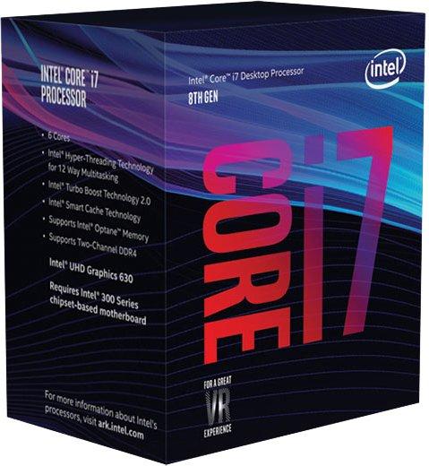 Процесор Intel Core i7-8700 3.2 GHz/8GT/s/12MB (BX80684I78700) s1151 BOX - зображення 1