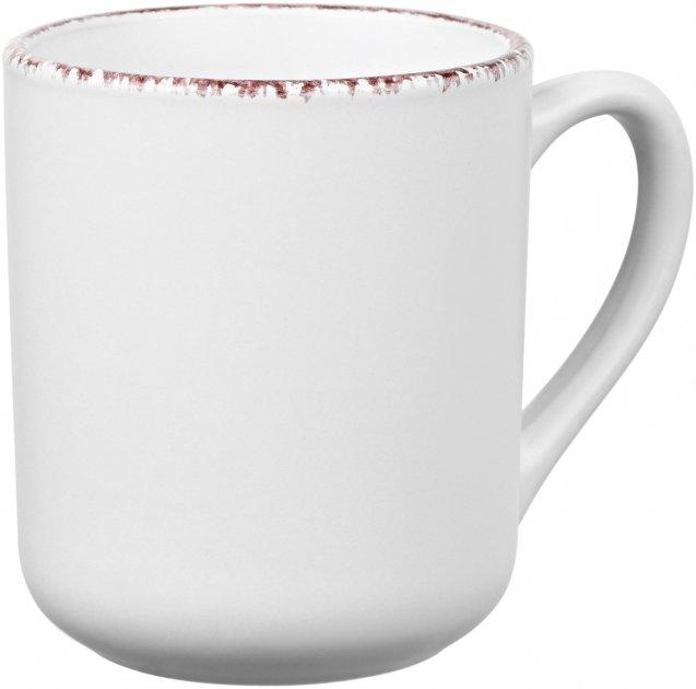 Чашка Ardesto Lucca Winter white Белый 360 мл (AR2933WMC) - изображение 1
