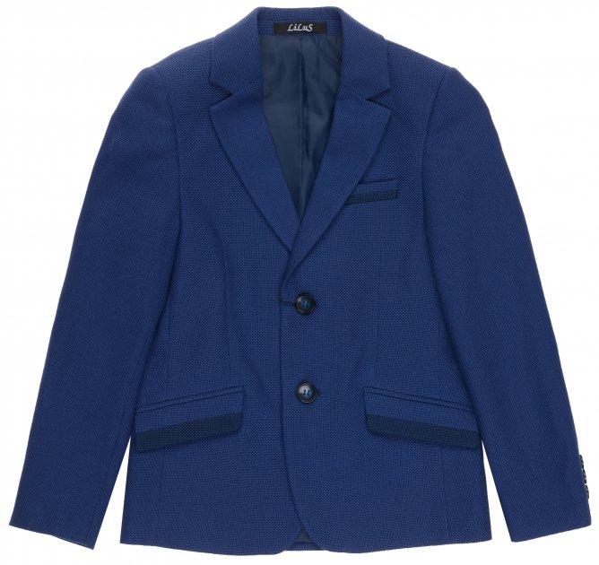 Пиджак Lilus 217П мод.13-2355 122 см 28 р Синий (ROZ6205091943) - изображение 1