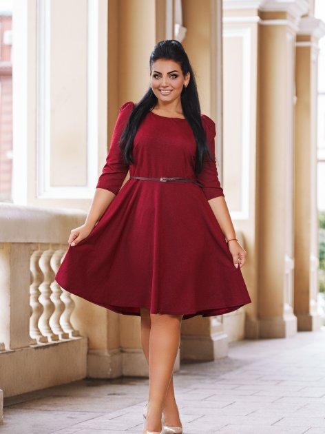 Платье DNKA с41102 56 Бордовое (2000000454528) - изображение 1