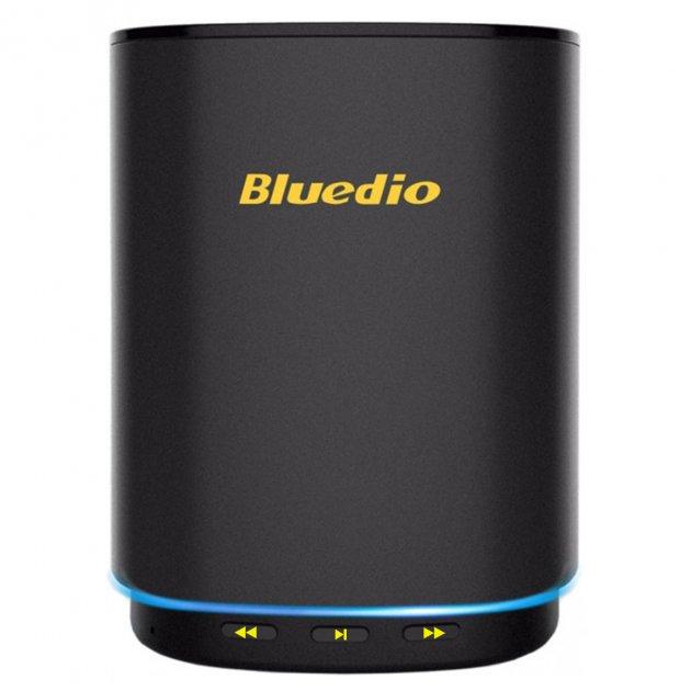 Бездротова колонка Bluedio TS5 портативна Bluetooth 5.0 Black - зображення 1