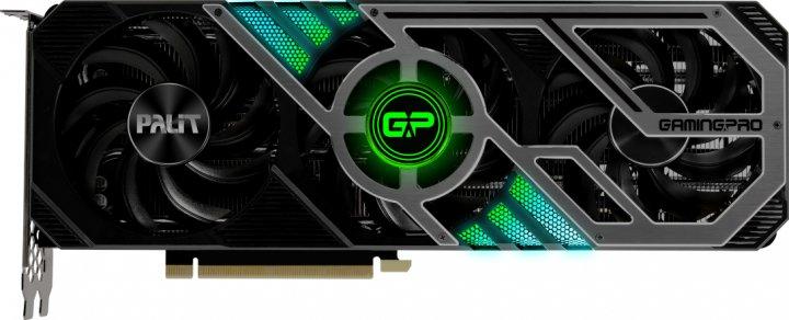 Palit PCI-Ex GeForce RTX 3070 GamingPro 8GB GDDR6 (256bit) (1500/14000) (3 x DisplayPort, 1 x HDMI) (NE63070019P2-1041A) - изображение 1