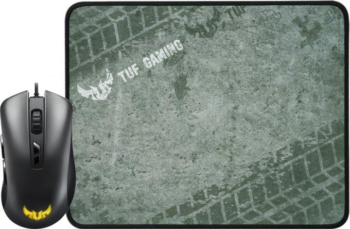 ХИТ-комплект Asus мышь TUF Gaming M3 (90MP01J0-B0UA00) + игровая поверхность TUF Gaming P3 (90MP01C0-B0UA00) - изображение 1