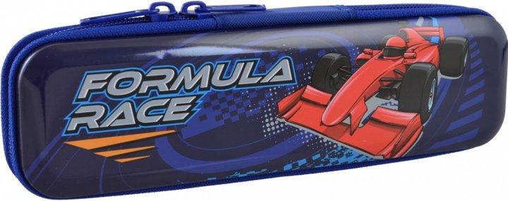 Пенал Yes Formula Race металлический 1 отделение Синий (532427) - изображение 1