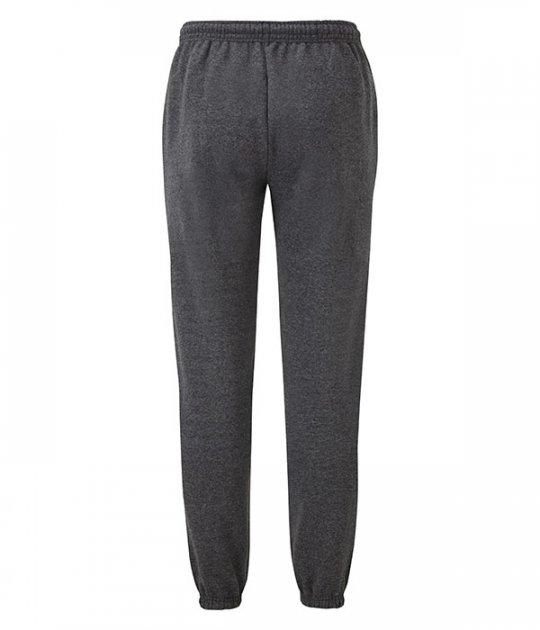 Спортивные брюки Fruit of the Loom Classic elasticated cuff jog pants S Темно-cерый (0640260HDS) - изображение 1