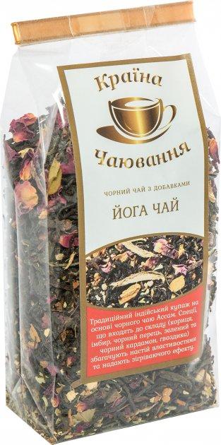 Черный чай со специями Країна Чаювання Йога Чай 100 г (4820230050486) - изображение 1