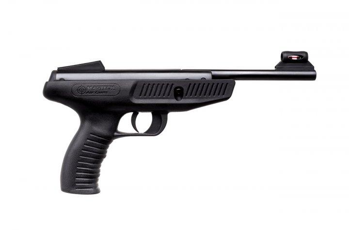 Пневматический пистолет MAGTECH 350 4.5 synthetic blue - изображение 1