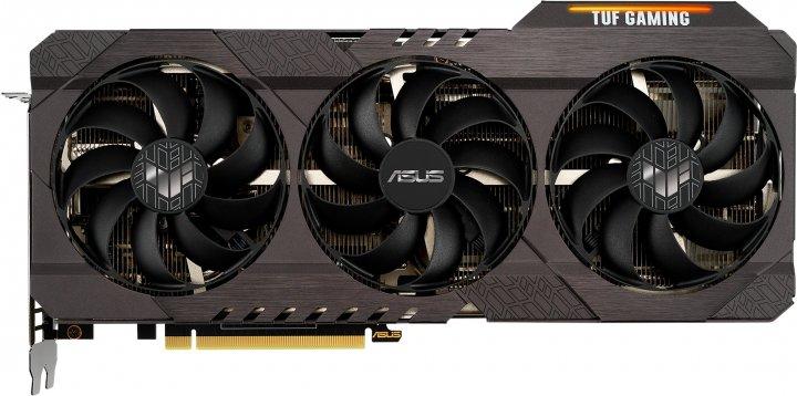 Asus PCI-Ex GeForce RTX 3070 TUF Gaming 8GB GDDR6 (256bit) (14000) (3 x DisplayPort, 2 x HDMI) (TUF-RTX3070-O8G-GAMING) - изображение 1