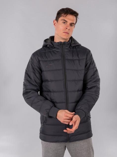 Куртка Joma Urban Jacket 100659.150 XS Темно-серая (9997000945084) - изображение 1