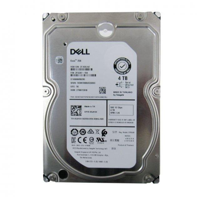 """Жорсткий диск Seagate для сервера DELL 4TB SAS 12Gbs 3.5"""" 7200rpm - зображення 1"""