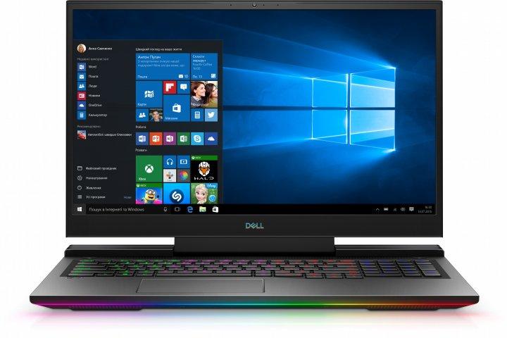 Ноутбук Dell Inspiron G7 17 7700 (77FzG7i732S4R2070-WBK) Mineral Black - зображення 1