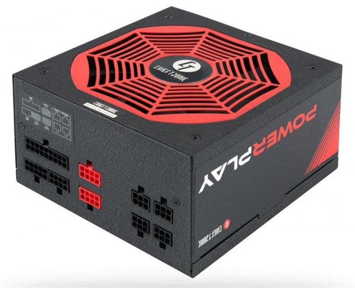 Блок питания Chieftec GPU-750FC, ATX, APFC, 14cm fan, Gold, modular, RTL - изображение 1
