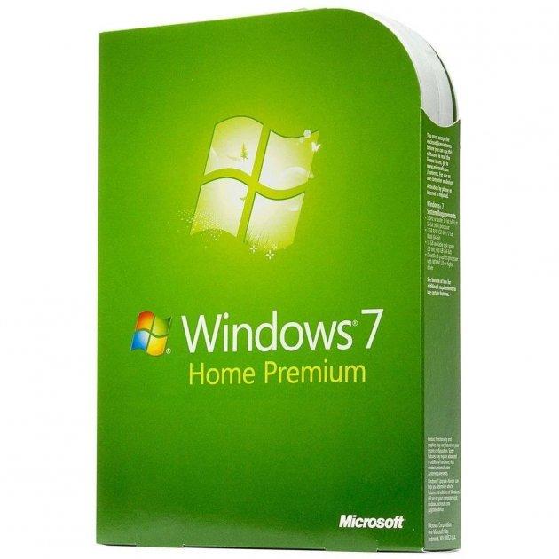 Операційна система Microsoft Windows 7 Home Premium 32/64bit Russian DVD BOX (GFC-00188) - зображення 1