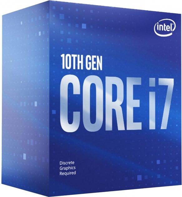 Процесор Intel Core i7-10700KF 3.8 GHz / 16 MB (BX8070110700KF) s1200 BOX - изображение 1