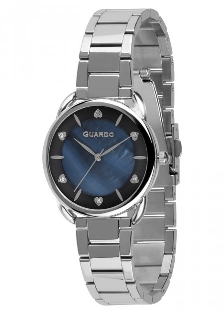 Годинники жіночі Guardo 011148-1 срібні - зображення 1