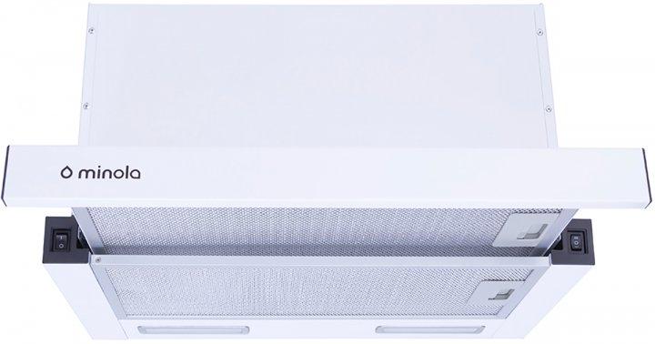 Вытяжка MINOLA HTL 5615 WH 1000 LED - изображение 1