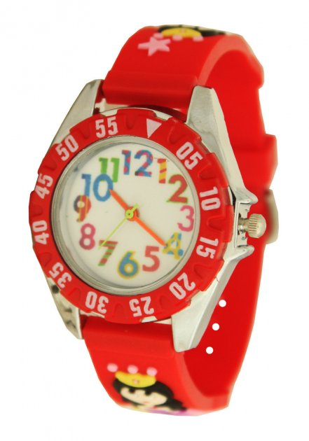 Детские наручные часы Принцесса (Baby 101 red) - изображение 1