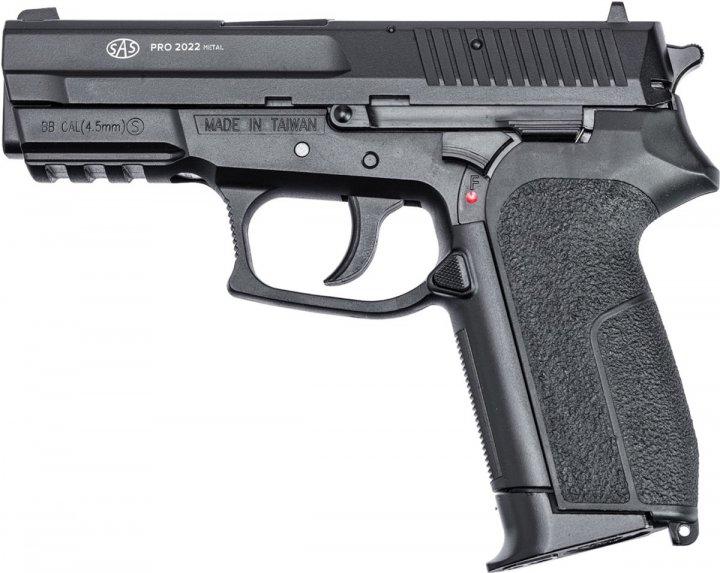 Пістолет пневматичний SAS Sig Sauer Pro 2022 (23703001) - зображення 1
