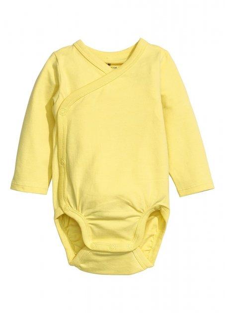 Боди H&M 50 см Желтый (HM131138) - изображение 1