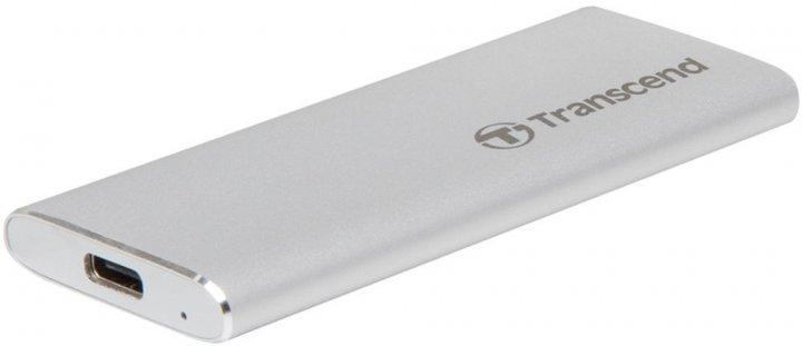 Transcend ESD240C 120GB USB 3.1 Type-C 3D NAND TLC (TS120GESD240C) External - зображення 1