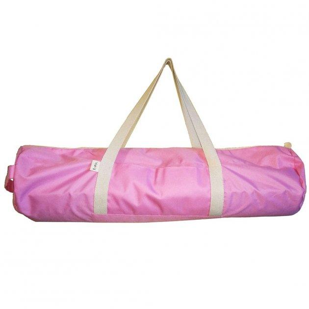 Сумка-чехол для йога коврика Foyo Pink 67x16 см Розовый с молочными ручками (01082) - изображение 1
