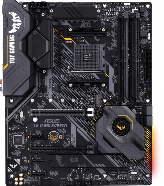 Материнская плата Asus TUF Gaming X570-Plus (sAM4, AMD X570, PCI-Ex16) - изображение 1