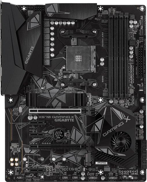 Материнская плата Gigabyte X570 Gaming X (sAM4, AMD X570, PCI-Ex16) - изображение 1