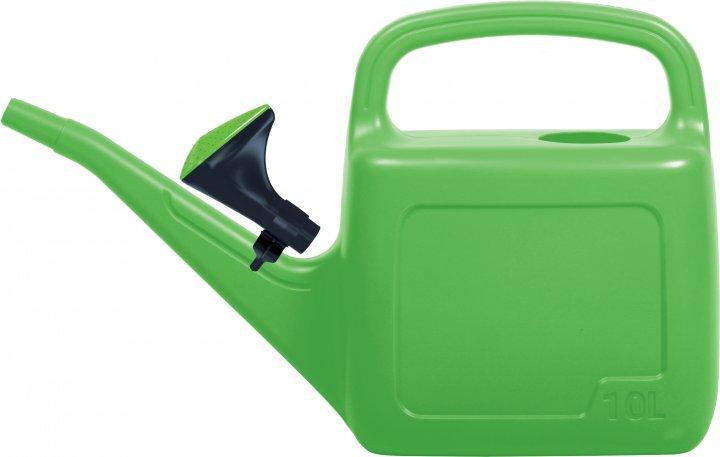 Садовая лейка Prosperplast AQUA 10 л Зеленая (5905197962573) - изображение 1