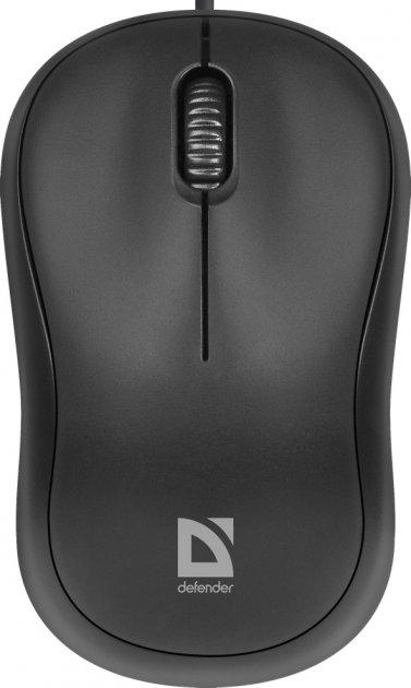 Миша Defender Patch MS-759 USB Black (52759) - зображення 1