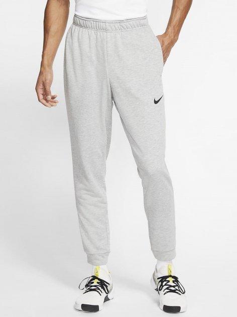 Спортивні штани Nike M Nk Dry Pant Taper Fleece CJ4312-063 L (193655216879) - зображення 1